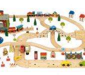Drvene igračke za djecu razvijaju kreativnost